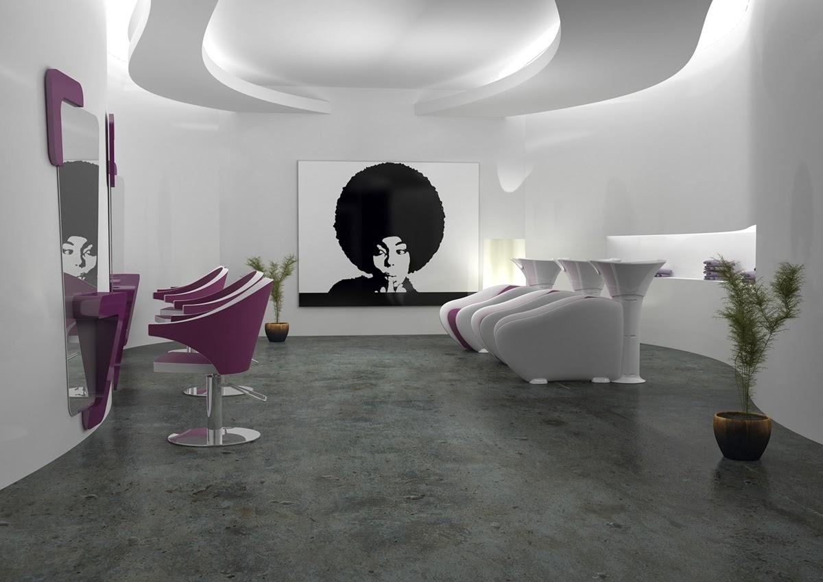 Estetica parrucchieri solarium illuminazione come for Arredare un salone