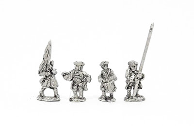 GNR3 Pikemen in tricorn