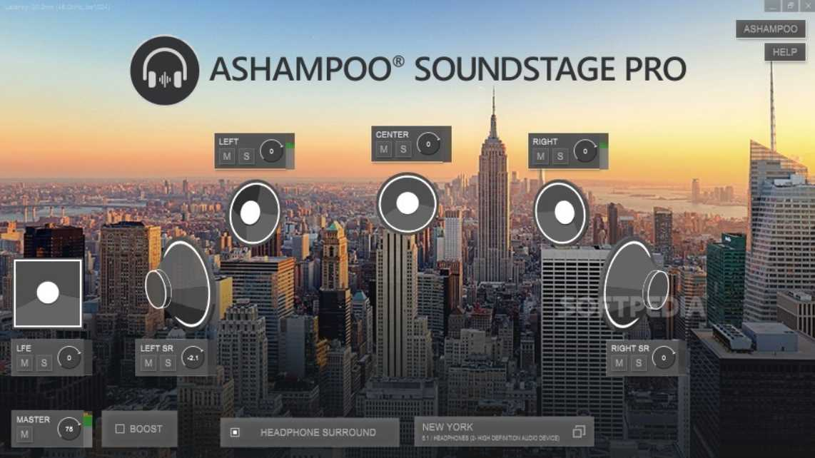 Ashampoo Soundstage 2020 1.0.1 poster box cover