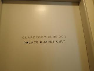 Kensington Palace Palace Guards Door