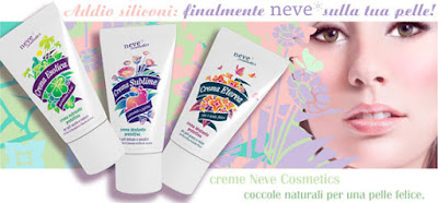 esotica e sublime neve cosmetics vecchio packaging