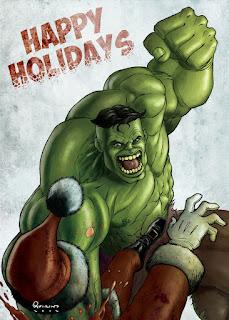 Hulk Christmas