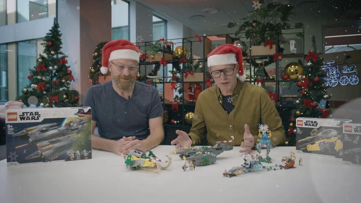 レゴ スター・ウォーズをクリスマスデコレーション!デザイナービデオを観て真似しよう!