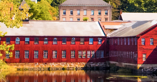 Collinsville Mill on the Farmington River Trail