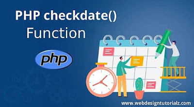 PHP checkdate() Function