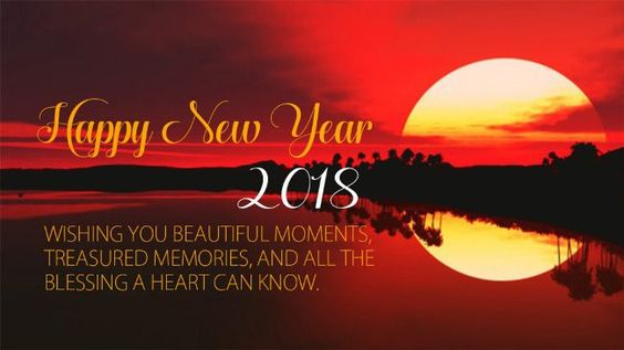 new year 2018 greetings to send to friends