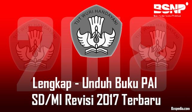 Lengkap - Unduh Buku PAI SD/MI Revisi 2017 Terbaru