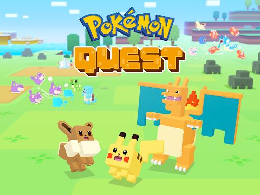 تحميل لعبة Pokémon Quest v1.0.3 مهكرة وكاملة للاندرويد شراء وتسوق مجانا