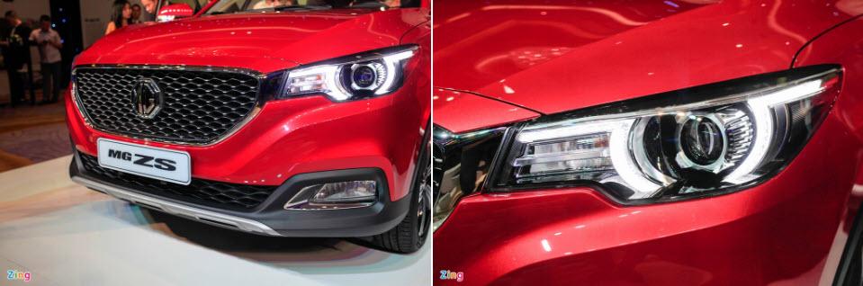 Chi tiết MG ZS - đối thủ mới của Hyundai Kona tại Việt Nam