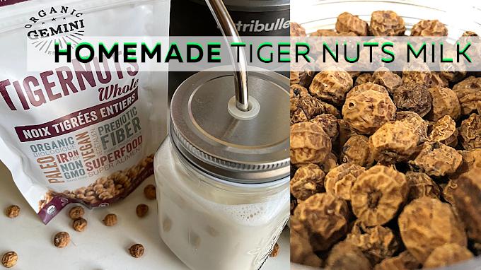 How To Make Tiger Nut Milk | 8 Amazing Health Benefits of Tiger Nuts | Horchata De Chufa | Kunu Aya