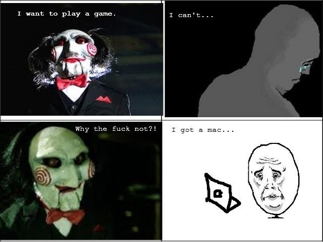 Saw I Want To Play A Game Quotes: MacFags: I Want To Play A Game