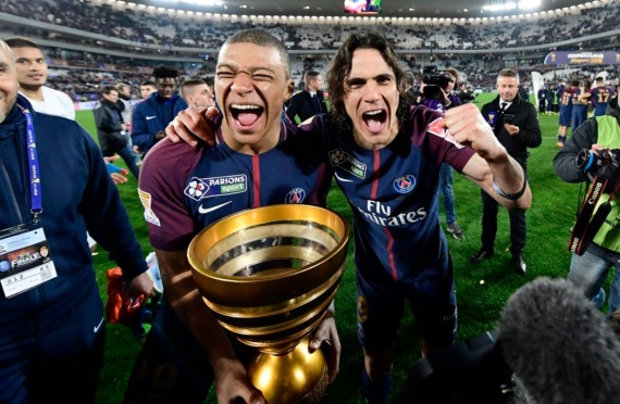 PSG win their Eighth Ligue 1 title