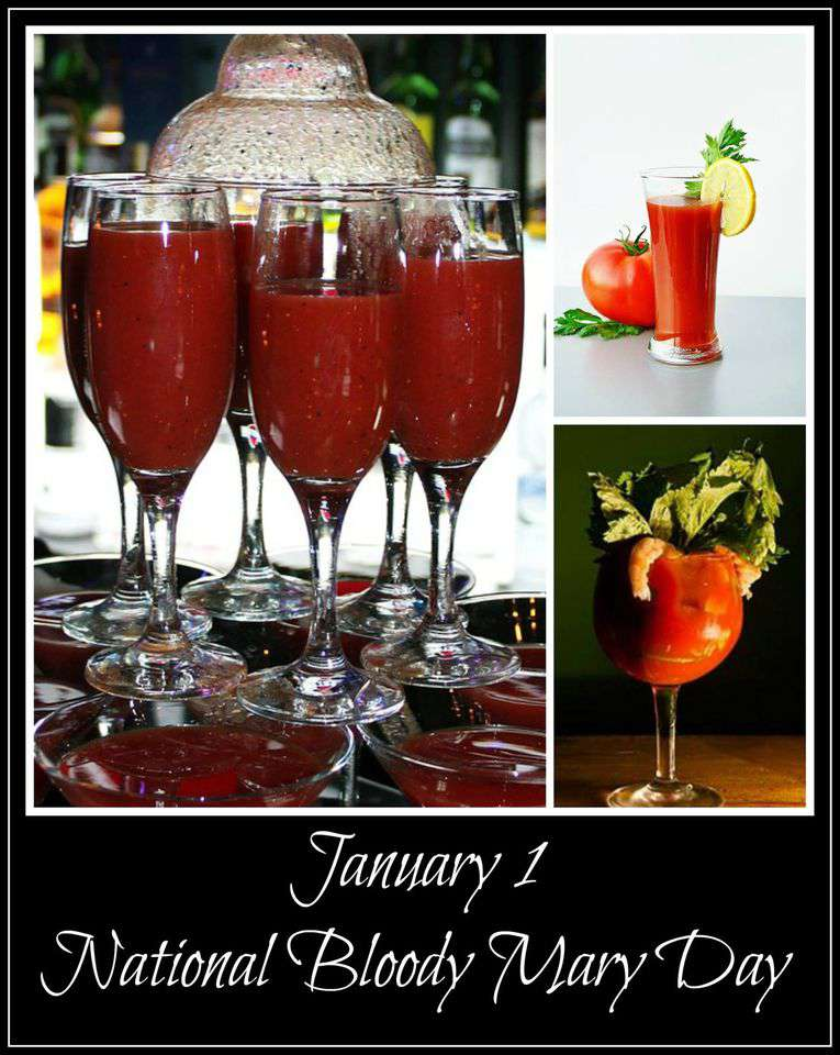 National Bloody Mary Day Wishes Images download
