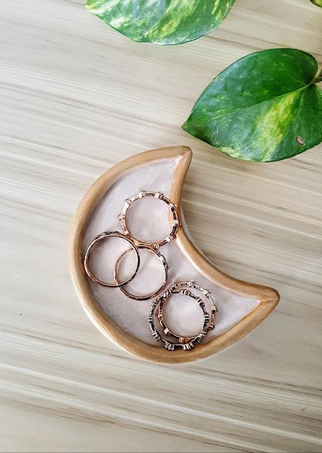 Celestial Moon Ring Dish
