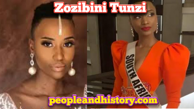 Zozibini Tunzi from South Africa Won Miss Universe | South Africa Won Miss Universe 2019 | zozibini tunzi biography