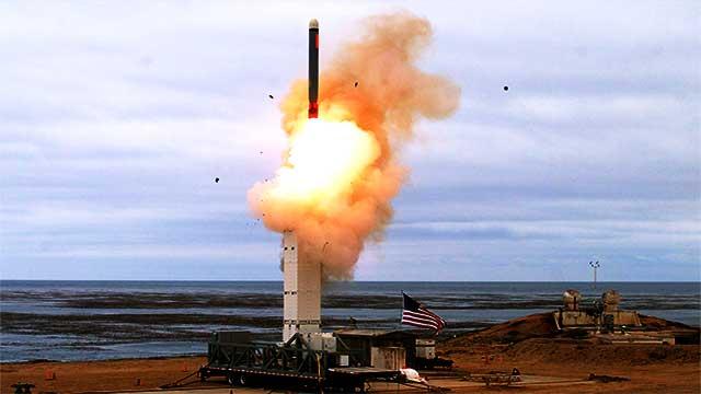 واشنطن تختبر صاروخا أسرع من الصوت بخمس مرات
