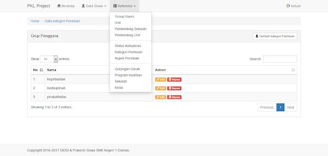 Sistem Informasi Manajemen Siswa PKL