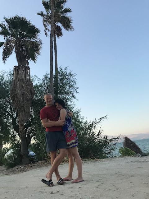 Galilejské more fotky