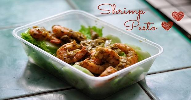 Shrimp Pesto Recipe