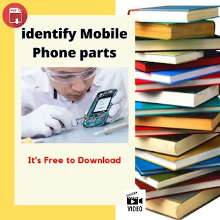 identify cell phone printed circuit board original parts and components