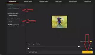 التعامل مع الصور (إزالة جزء من الصورة + تصميم صور متحركة Gif+ دمج أكثر من صورة) بطريقة سهلة وبدون برامج