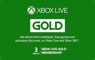 Microsoft Xbox Subscription Gift Card