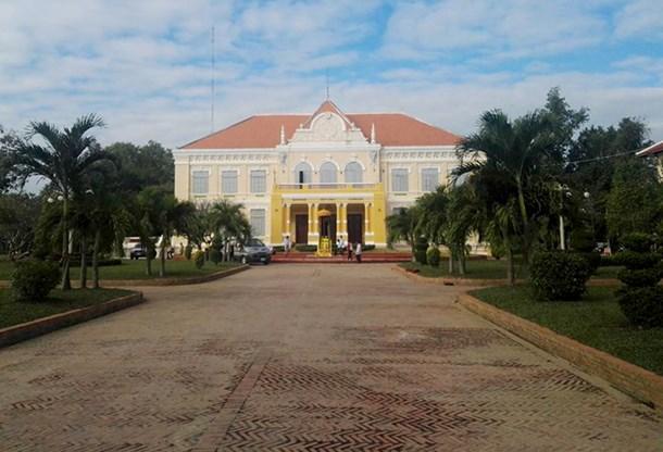 Le bâtiment provincial de Battambang
