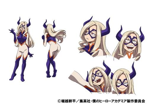 เมาน์เท่นเลดี้ (Mt. Lady) @ My Hero Academia: Boku no Hero Academia มายฮีโร่ อคาเดเมีย