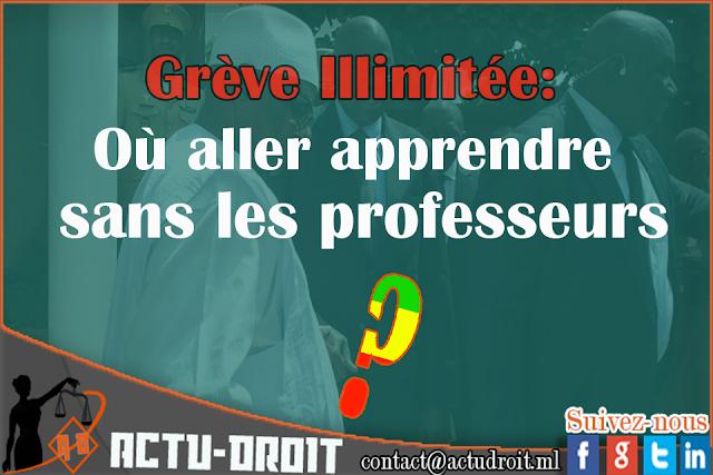 Grève illimité au Mali