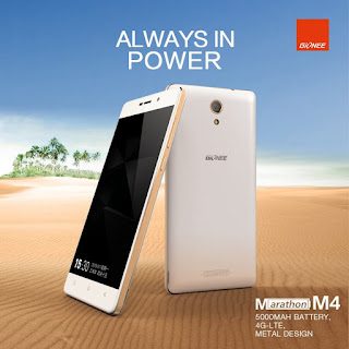Gionee Set to Release Marathon Smartphone with 5000 mAh Battery