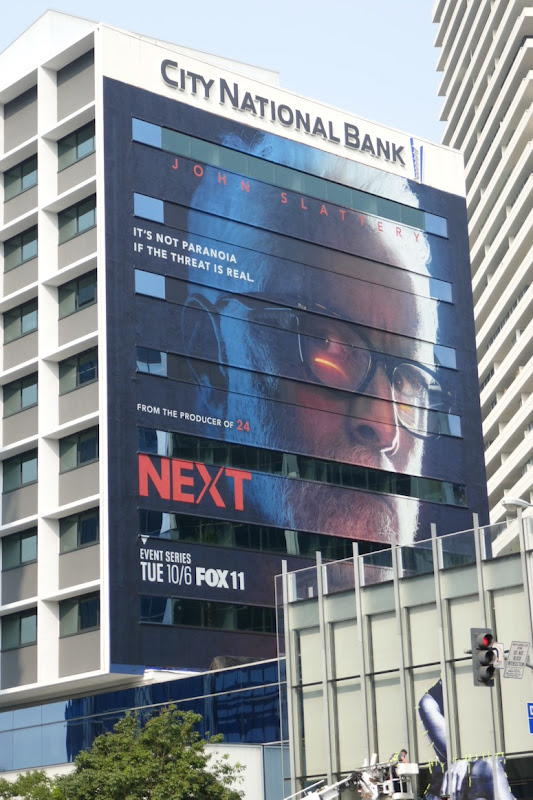 Giant Next series launch billboard