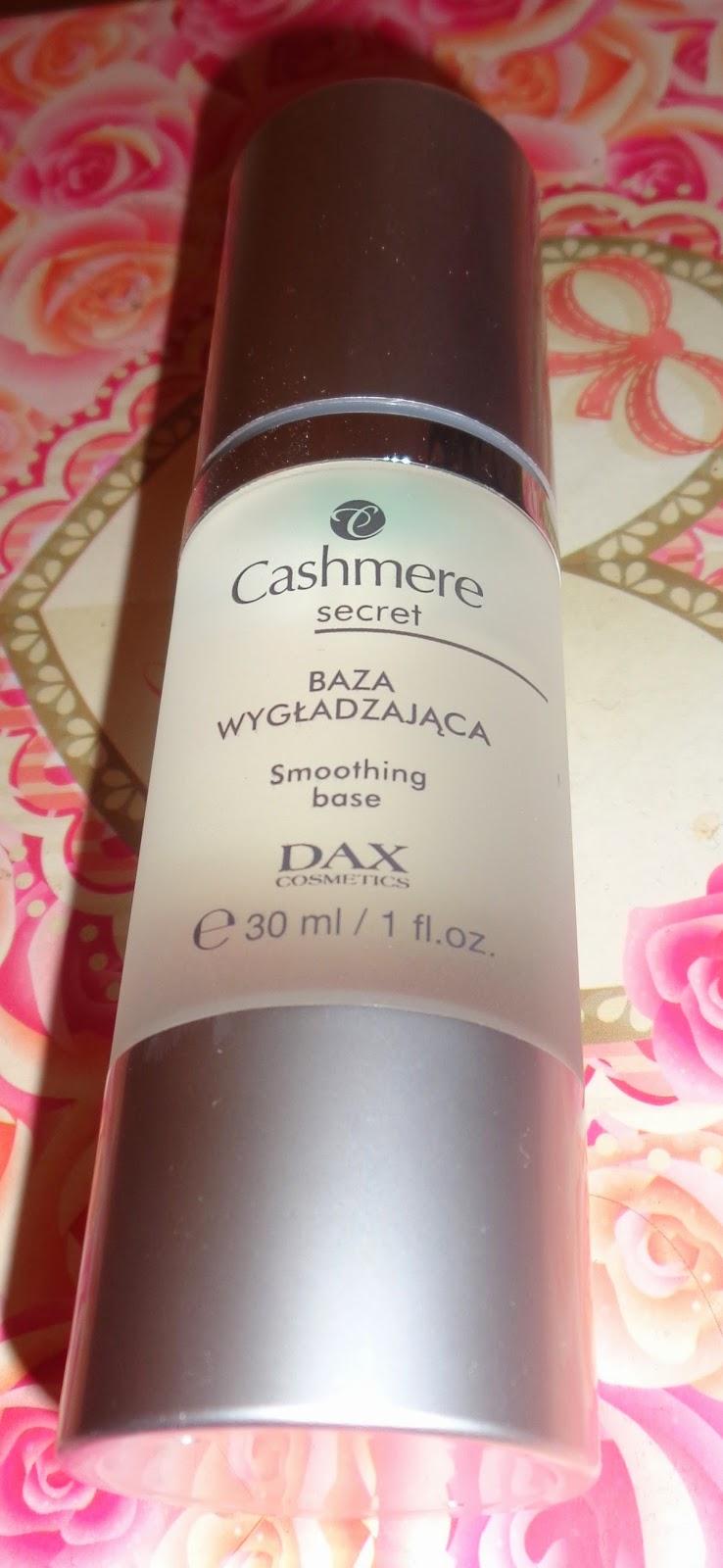 Baza wygładzajaca Cashmere secret DAX Cosmetics  - recenzja
