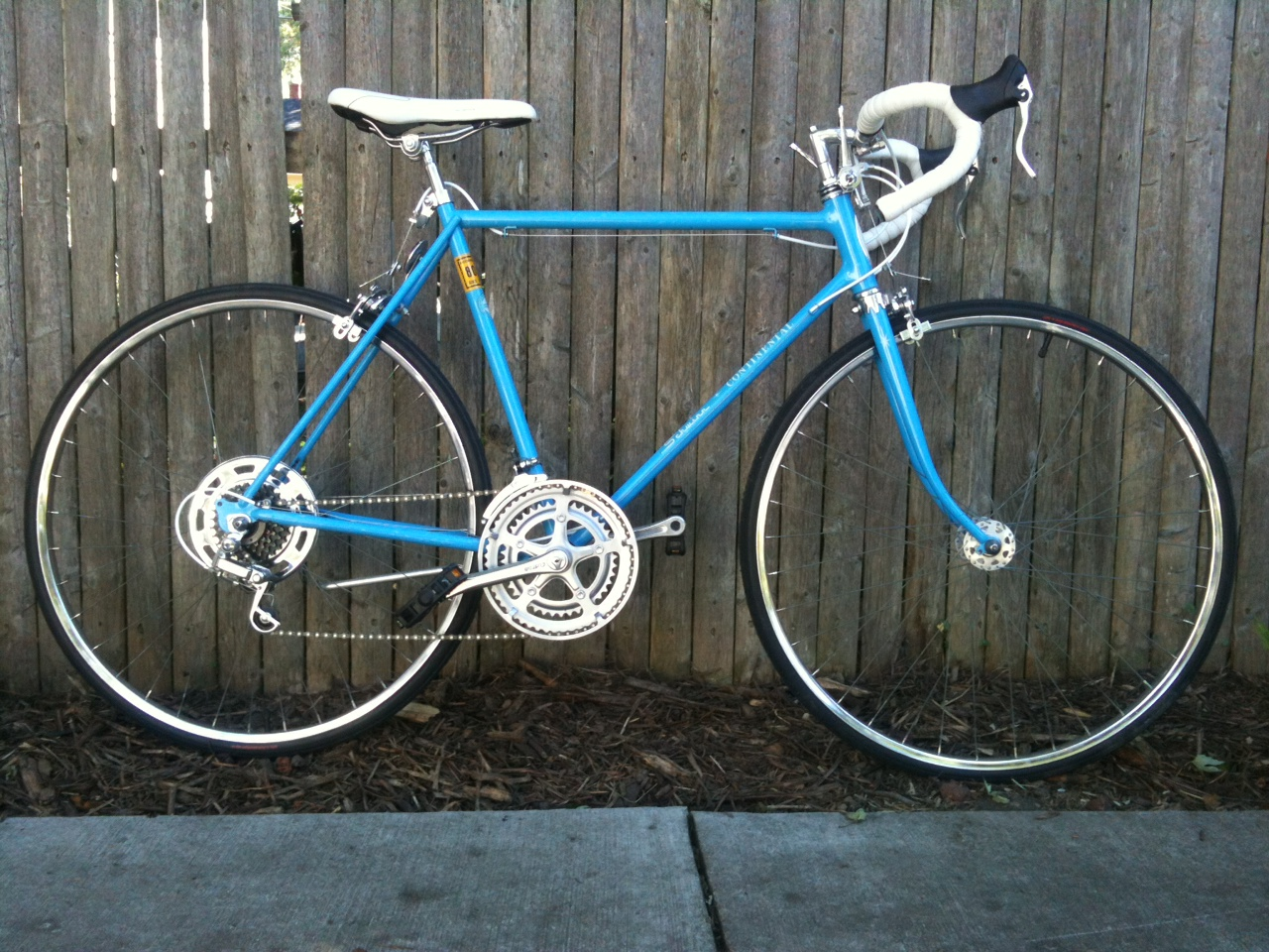 Chicagoland S Bicycles Amp Their Riders Dave S Baby Blue