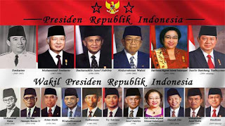 daftar nama nama presiden indonesia