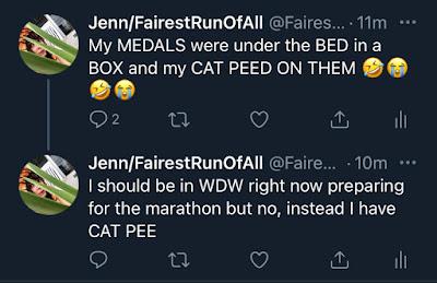 Cat pee medals