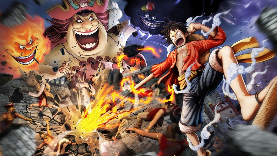 Luffy Vs Big Mom One Piece Pirate Warriors 4 8k Wallpaper 3688