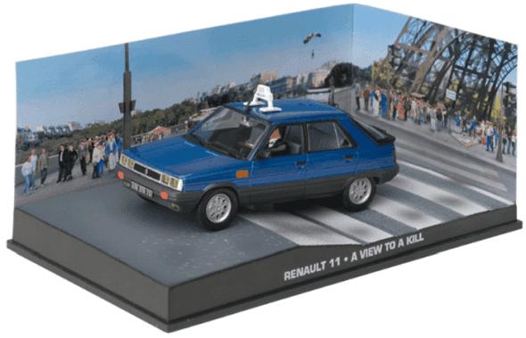 Renault 11 - A view to a kill 1:43 colección james bond