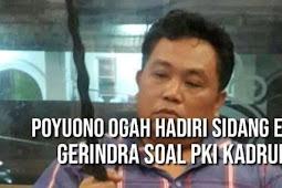 Arief Poyuono Ogah Hadir