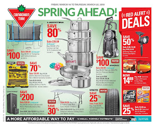 Canadian Tire Flyer March 16 – 22, 2018