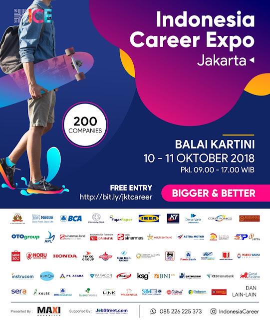 Job Fair Jakarta Terbaru 2018 (Gratis)
