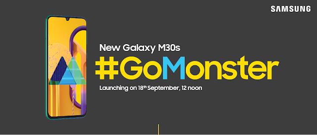 Samsung Galaxy M30s with 6000mAh battery to launch on September 18
