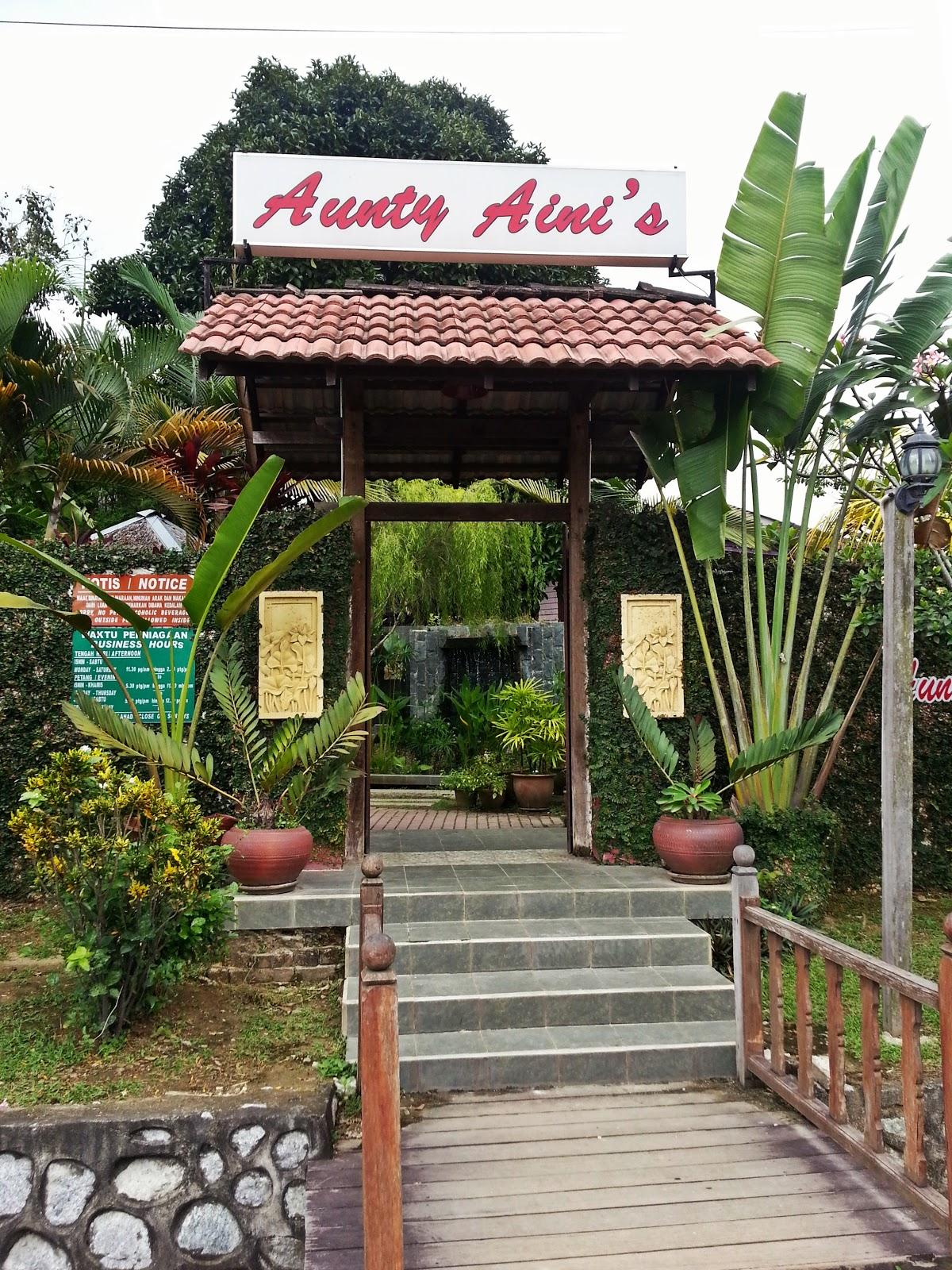 Venoth S Culinary Adventures Aunty Aini S Garden Cafe Kampung