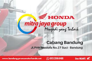 Harga Motor Honda bandung terbaru 2018