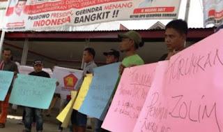 DPD Gerindra Sumbar Didemo, Terkait Penunjukan Ketua DPRD