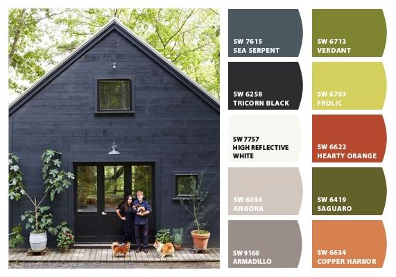 Southwest Exterior Paint Colors