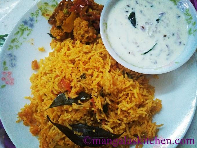 Tomato Biryani | Thakkali Biryani | One Pot Biryani | Lunch Recipe