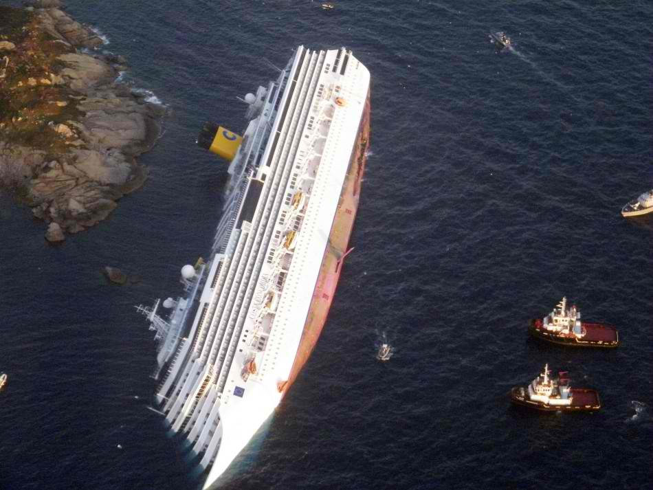 HAWSEPIPER: The Longest Climb: The wreck of the Costa ...