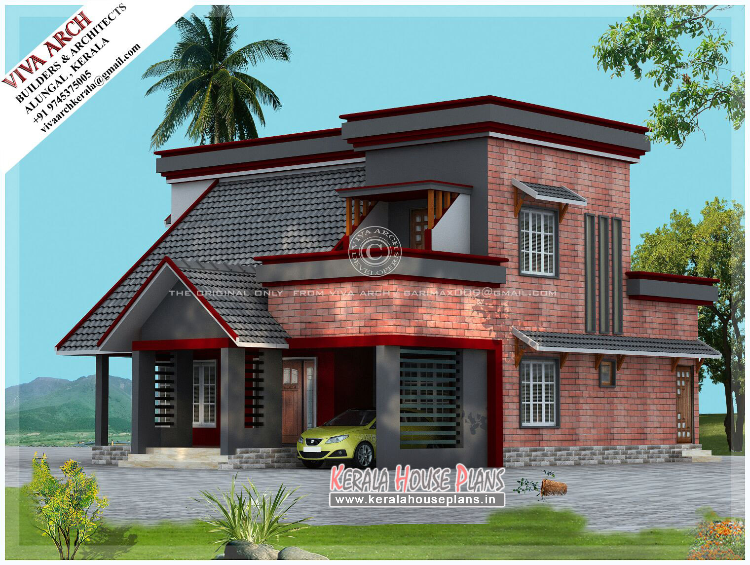 Kerala Home Design And Floor Plans: Kerala Home Designs And Elevation