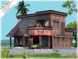 kerala double floor house plan