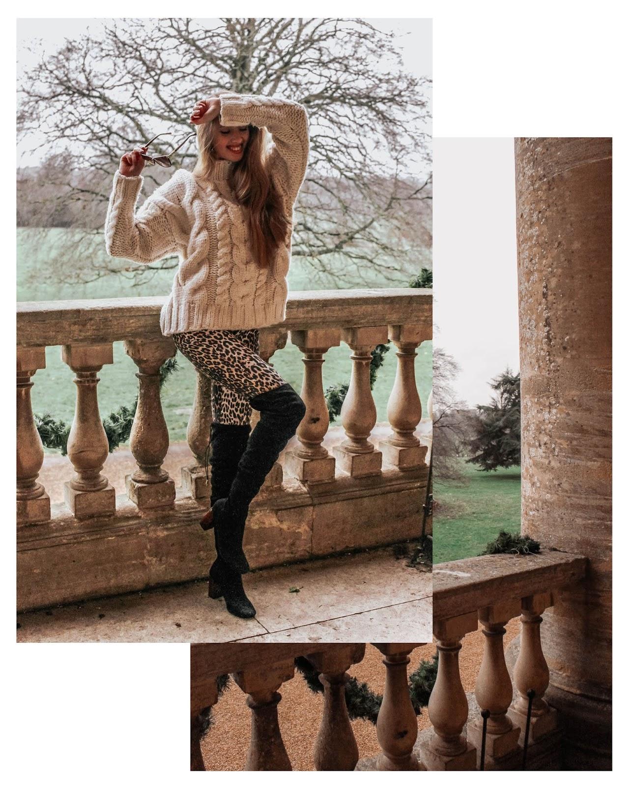 Calzedonia Leopard Print Leggings Trousers